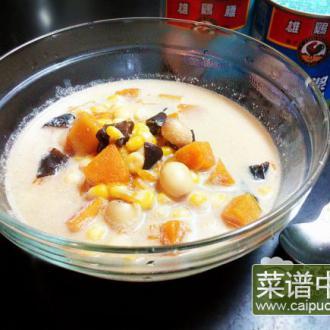 椰汁煮杂粮
