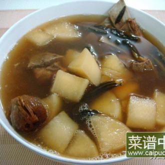 菜干萝卜猪骨汤