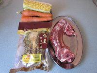 霸王花煲猪骨汤的做法步骤1