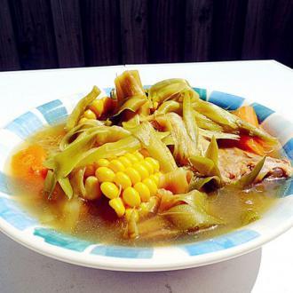 霸王花煲猪骨汤