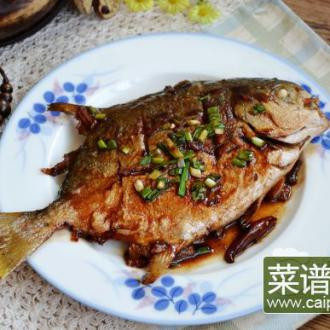 海鲜酱烧金鲳鱼