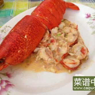 葱爆芝士龙虾