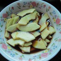 炝香瓜的做法步骤6