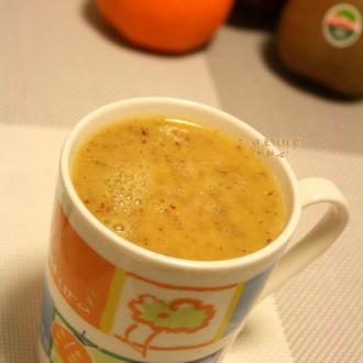 鲜榨双果橙子汁