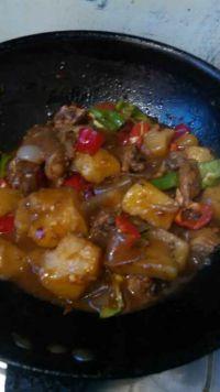 鸡肉土豆炖粉皮的做法步骤10