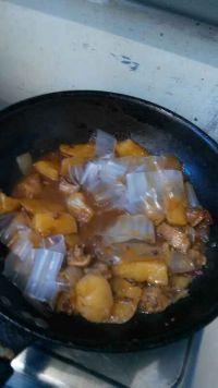 鸡肉土豆炖粉皮的做法步骤9