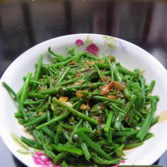 蚝汁龙须菜
