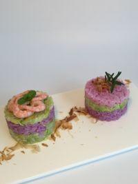 牛油果紫甘蓝寿司饭的做法步骤12