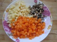 花样焖米饭的做法步骤4