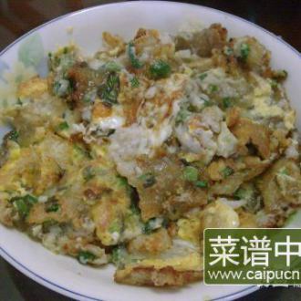 香煎豆腐鱼地瓜粉烙