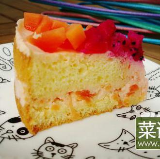 木瓜慕斯蛋糕