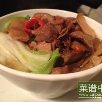 平菇鸭煲汤