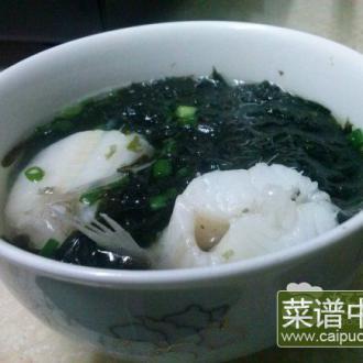 豆腐鱼紫菜汤