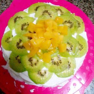 猕猴桃水果蛋糕