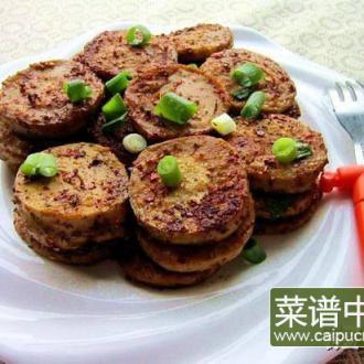 电饼铛香煎素鸡
