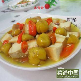 粟子烧豆腐