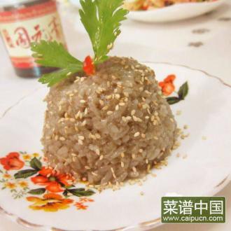 固元膏糯米饭