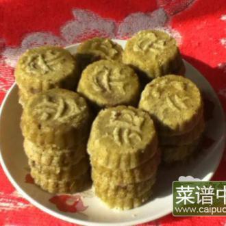 粗粮细作—绿豆糕