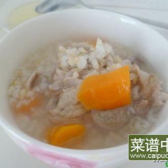筒骨糙米粥