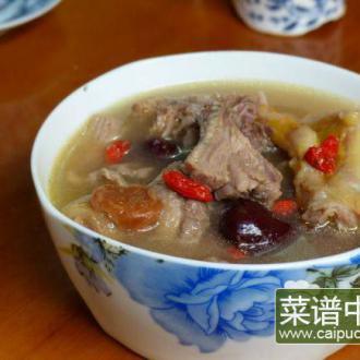老鸭粟子温补汤