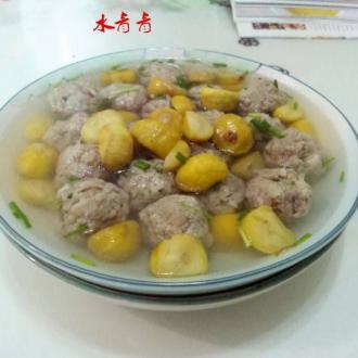 粟子丸子汤