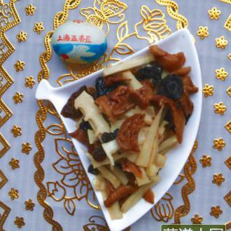 扁尖炒菌菇