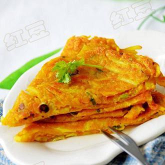 咖喱土豆早餐饼
