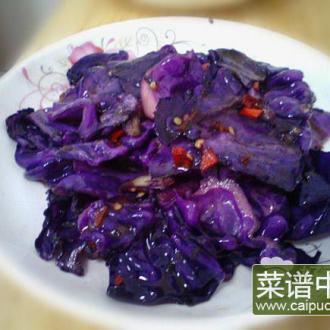 醋溜紫椰菜