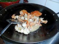 姜葱炒肉蟹的做法步骤7