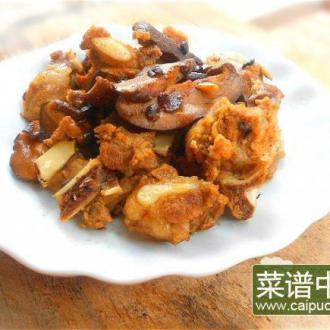 香菇焖排骨