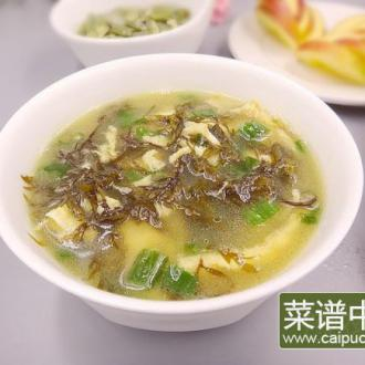 羊栖菜鸡蛋汤