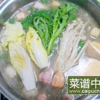 猪骨汤火锅