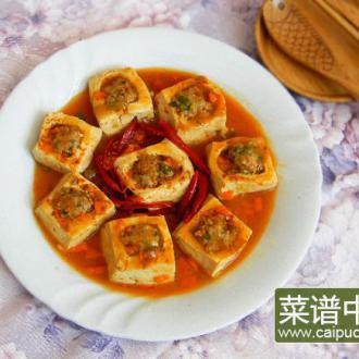 香辣豆腐盒