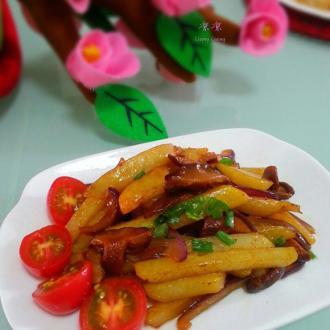 香茹烩土豆