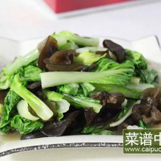 木耳奶白菜