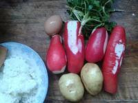 萝卜丸子的做法步骤3