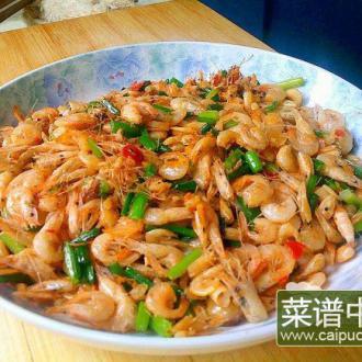 香辣韭苔小河虾