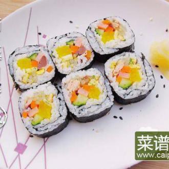 鲔鱼太卷寿司