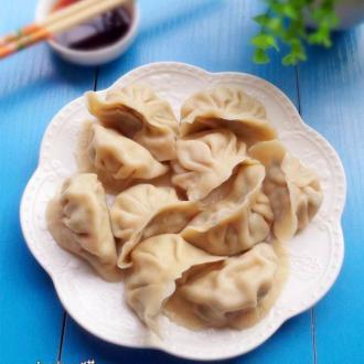 韭菜鲜肉饺子