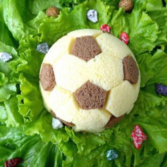 足球慕斯蛋糕