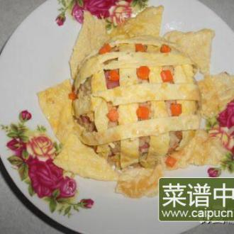 太阳花炒饭