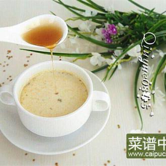 蜂蜜花粉奶茶