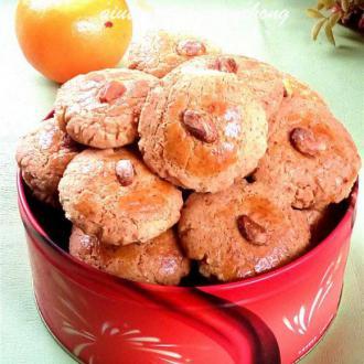 开心果酥饼