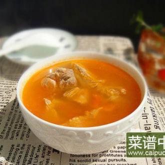 小排骨番茄浓汤