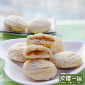 鸡蛋果酥饼