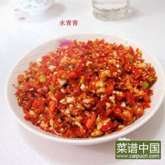 腌蒜米剁椒酱