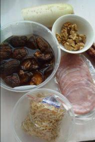 香菇核桃酥皮饼的做法步骤1