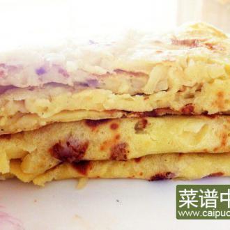 奶香水果玉米饼