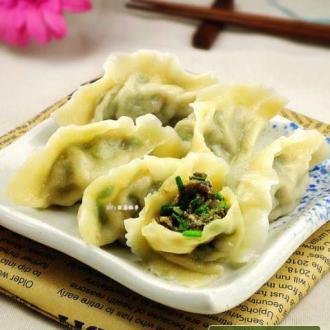 韭菜木耳水饺