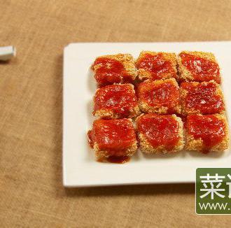 脆皮茄汁水豆腐